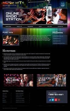Radio Station Template Online Radio Station Wordpress Template On Behance