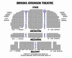 Brooks Atkinson Theatre Seating Chart Brooks Atkinson Theatre Playbill