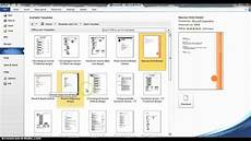 Microsoft Word Layout Templates Using Microsoft Word Resume Templates Youtube