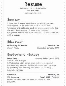 Resume Build Free Resume Builder Resume Templates To Edit Amp Download