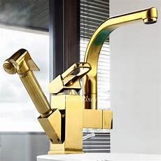 Luxury Kitchen Faucets Luxury Kitchen Faucets Pull Out Spray Polished Brass