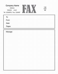Free Fax Cover Letter Template Free Fax Cover Letter Template