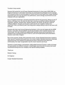 Letter Of Recommendation It Technician Recommendation Letter From Patrick Hurley