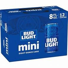 Bud Light Mini Bud Light 174 Minis 12 Pack 8 Fl Oz Cans Walmart Com