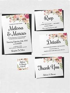 Download And Print Wedding Invitations Free Free Wedding Invitation Templates You Ll Love