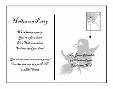 Free Postcard Invitation Templates Printable Printable Halloween Postcard Invitations