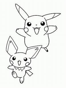Ausmalbilder Pikachu Kostenlos Malvorlagen