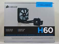Corsair H60 Light Corsair Hydro Series H60 2012 Edition Liquid Cpu Cooler