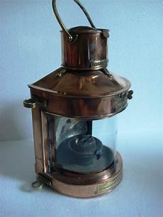 Antique Ship Lights Real Antique Ship S Light Lantern Bt 106 Masthead Brass M