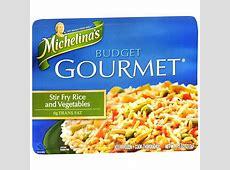 Michelina's Budget Gourmet Frozen Entree Stir Fry Rice