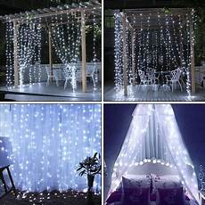 Where To Buy Curtain Lights 300led Party Wedding Curtain Fairy Lights Usb String Light