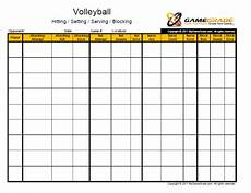 Volleyball Stat Sheet Stat Sheet Website Has Lots Of Stat Helps But At A Price