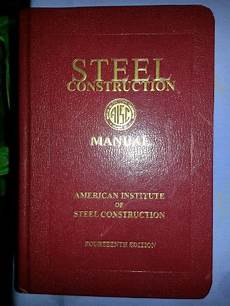 Steel Construction Manual 14th Edition Pdf Steel Construction Manual 14th Edition Aisc 325 11