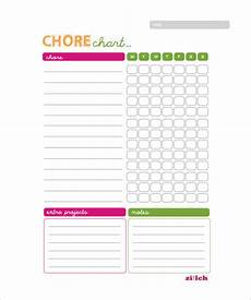 Chore Chart Template Word 13 Sample Weekly Chore Chart Templates Free Sample