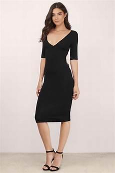 black dress twist back dress half sleeve black dress