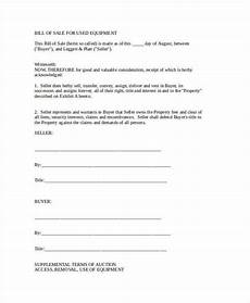 Bill Of Sale Doc Free 36 Bill Of Sale Forms In Ms Word