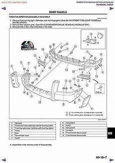 Factory Service Manual Fsm Mazda Bt 50 Ford Ranger And