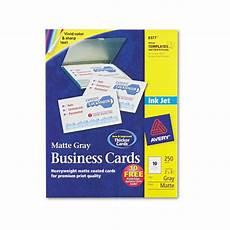 Avery Business Card Creator Avery Inkjet Matte Business Cards Ave8377 Shoplet Com