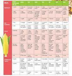 Diet Chart For Mother Sample Meal Plan For Baby