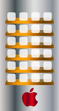 Iphone 6s Plus Wallpaper Apple Logo by Apple Logo Shelf Cool Wallpaper Sc Iphone6s