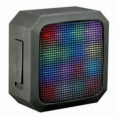 Portable Light Up Bluetooth Speaker Blackweb Soundspark Led Light Portable Wireless Speaker