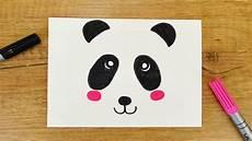 kawaii panda diy niedlichen b 228 ren in 5 minuten malen f 252 r