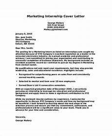 Internships Cover Letters Free 7 Internship Cover Letters Samples In Pdf Ms Word