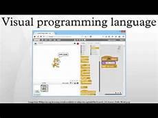 Visual Programming Visual Programming Language Youtube