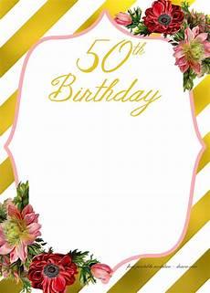 Birthday Party Invitations Templates Free Printable Birthday Invitation Template Free