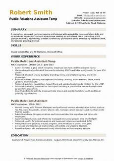 Public Relations Assistant Resume Entry Level Communication Resume Examples Best Resume Ideas