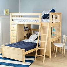 all in one loft bed storage study bed jackpot