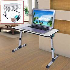 adjustable height laptop stand desk computer table for