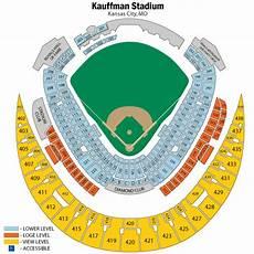 Kauffman Stadium Row Chart Fs Royals Vs Yankees Dugout Box Tickets