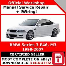 Factory Workshop Service Repair Manual Bmw Series 3 E46