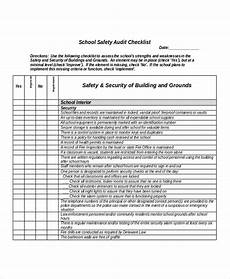 Example Of A Checklist Schools Audit Example
