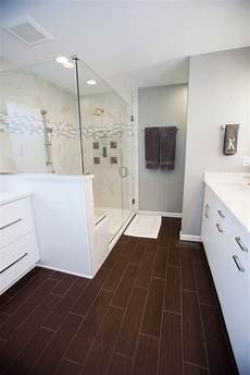 bathroom hardwood flooring ideas modern white bathroom with wood floor callier and