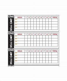Golf Scorecard Template 12 Golf Scorecard Templates Pdf Word Excel Free