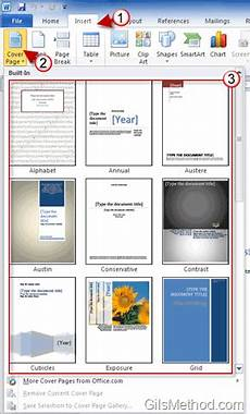 Title Page Template Word 2010 Impress Your Boss With Amazing Cover Pages In Word 2010