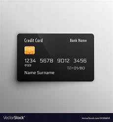 Credit Card Images Free Download Credit Debit Card Mockup Royalty Free Vector Image