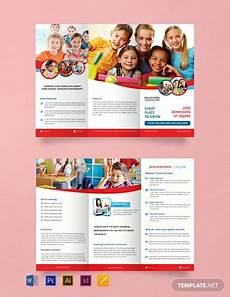 School Brochures Templates 15 Free Educational Brochure Templates Word Psd