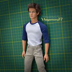 ken doll clothes ken doll in custom made clothes inspired by the karate kid