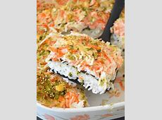 Sushi Bake   Recipe   Sushi bake, Sushi recipes, Food recipes
