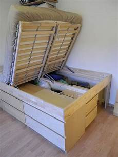 diy lift top storage bed your projects obn