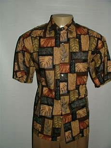 Norm Thompson Size Chart Mens Norm Thompson Casual Shirt Size L 100 Cotton Brown