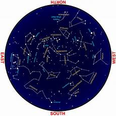 Sky Chart Sky Map For November Celestial Events For Viewing Pleasure