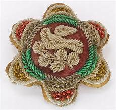 antique iroquois american beaded pin cushion