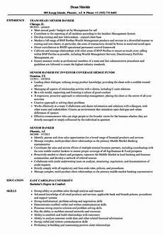 Resume Format For Banking Jobs 12 Sample Resume For Banking Jobs Radaircars Com