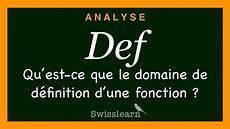 Definition De La Pnl Qu Est Ce Que Le Domaine De D 233 Finition D Une Fonction