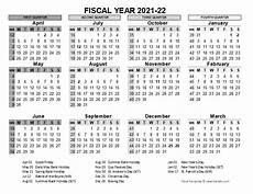2020 Fiscal Year Calendar 2021 2022 Fiscal Calendar Uk Template Free Printable