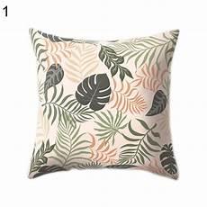 45x45cm animals tropical leaf flower throw pillow
